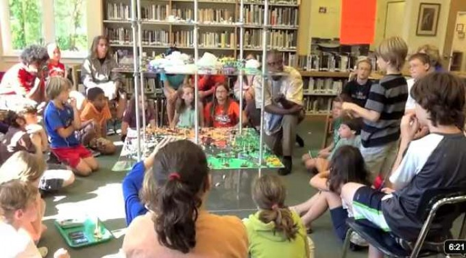 World Peace Game Played at Tandem Friends School in Charlottesville