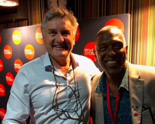 John appears onABC Sydney's radio program, Drive