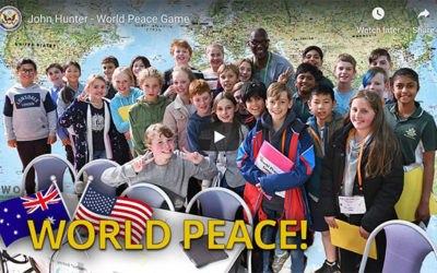 World Peace Game inspires young Aussies to solve global challenges